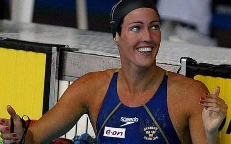 139 lbs (63 kg) born: Swimming suit rules are sexists, says Sweden's Therese Alshammar - Telegraph