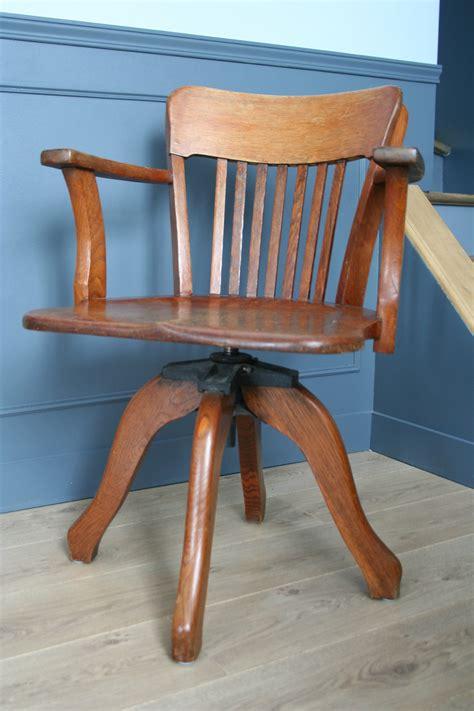 fauteuil de bureau ancien pivotant