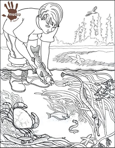 water pollution drawing colouring pages water pollution
