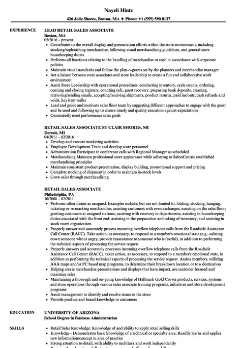 10 luxury sales associate resume sle