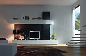 Wohnzimmer Tv Wand Ideen : 120 wohnzimmer wandgestaltung ideen ~ Orissabook.com Haus und Dekorationen