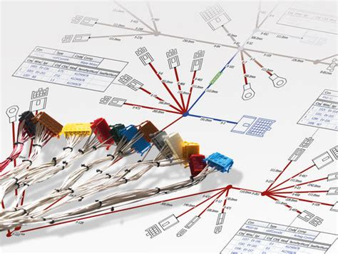 preevision wiring harness design vector