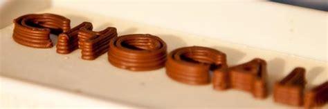 cours de cuisine mantes la l 39 imprimante 3d qui fabrique du chocolat les imprimantes