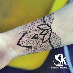 Tatouage Avant Bras Femme Mandala : tatouage poignet femme yin yang ~ Melissatoandfro.com Idées de Décoration