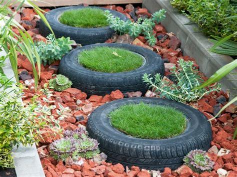 Garten Gestalten Mit Autoreifen kreative gartentipps pflanzencontainer aus alten autoreifen