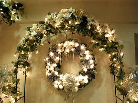 garland decoration for christmas tree decorating