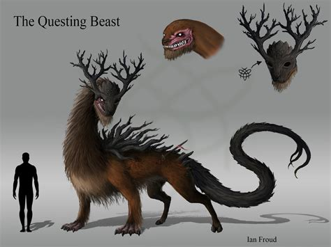 Ian Froud - The Questing Beast