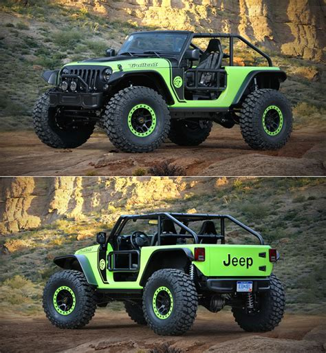 700 hp jeep wrangler jeep wrangler trailcat is powered by 700hp hellcat v8