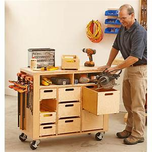Wheel-easy Shop in a Box Woodworking Plan from WOOD Magazine