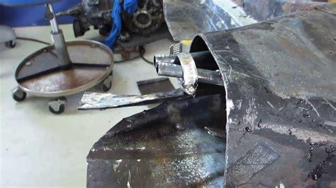 vw floor pan shortening berrien buggy 2 8 2014 how to shorten the vw pan for the