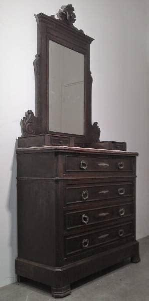 ancien meuble coiffeuse commode tiroirs surmonté d 39 un