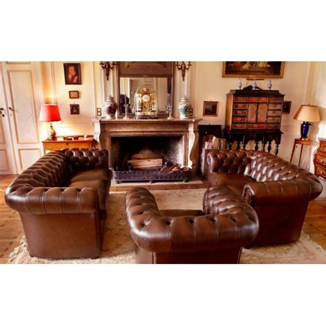 canape chesterfield vintage chesterfield