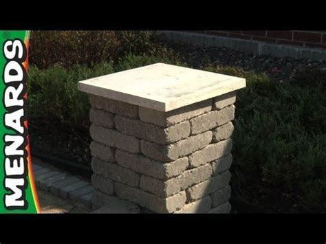 Concrete Block Columns   How To Build   Menards   YouTube
