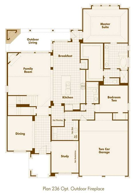 Highland Homes Floor Plans 921 by New Home Plan 236 In San Antonio Tx 78254