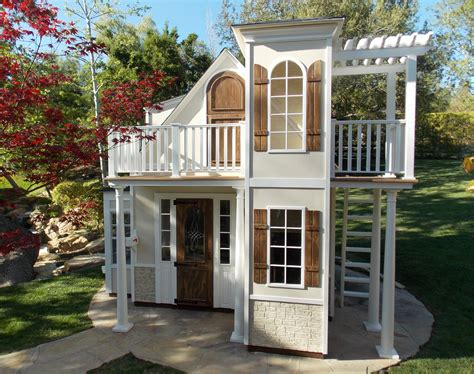 Children Custom Playhouses Diy Playhouse Plan Lilliput