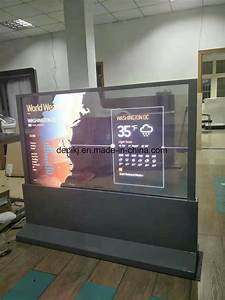 China 55 Inch Transparent Oled Screen 100  New Oled Screen