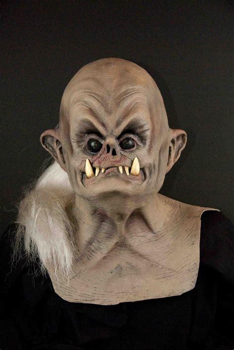 dogman monster creature man dog ugly fugly pugley black eyed beast scary halloween mask