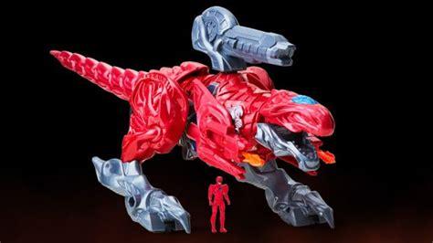 power rangers le zord rouge revele par  jouet actus
