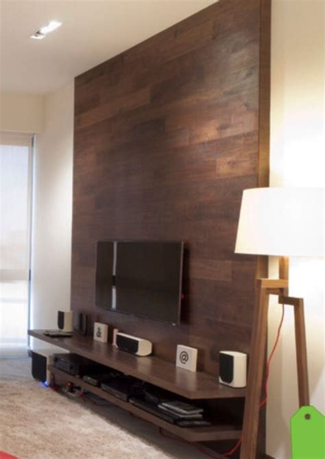 Tv Paneel Wand by This Tv Wall Is Simple And Effective A Shelf For