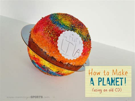 Teaching Tuesday How To Make A Planet (with An Old Cd