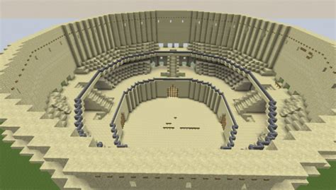 colosseum map  minecraft   pc java mods