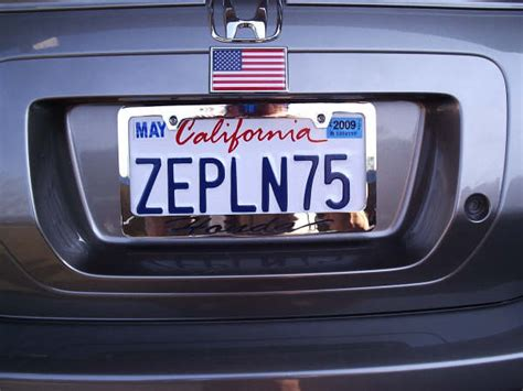 And Dunn License Plate by Led Zeppelin License Plate Page
