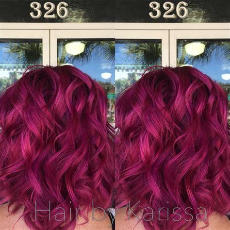 Mermaid Hair Pink Hair Magenta Hair Kenra Color Kenra
