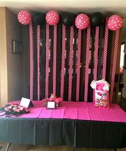 Minnie Mouse Birthday Party Ideas - Pink Lover