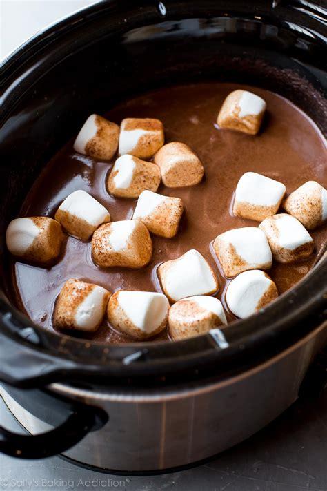 chocolate slow cooker recipe crockpot sallysbakingaddiction recipes decadent cocoa baking