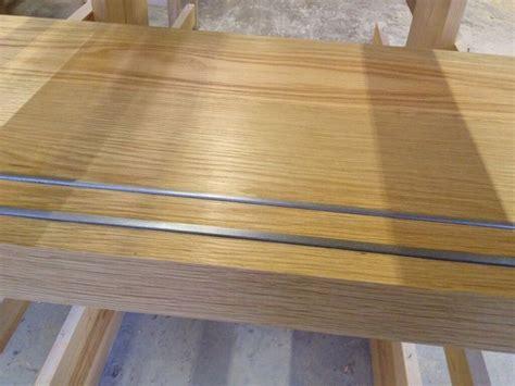 flooring integrated metal  slip stair treads  wood