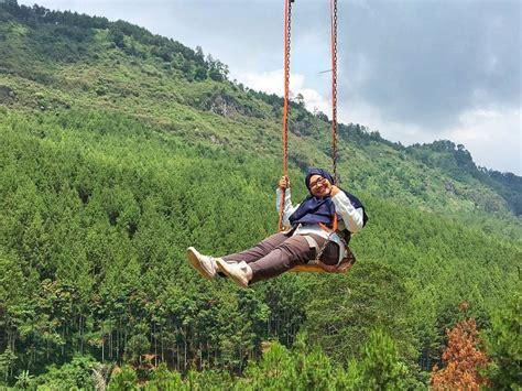 sky swing  lodge maribaya bandung backpacker jakarta