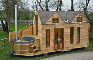Luxury Tiny House on Wheels With a Hot Tub - Tiny House for Us