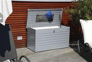 Box Für Sitzauflagen : gartenh tte aus holz und metall lagerhaus ~ Orissabook.com Haus und Dekorationen