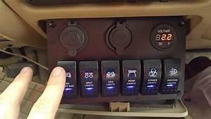 12v Illuminated Toggle Switch Wiring Diagram