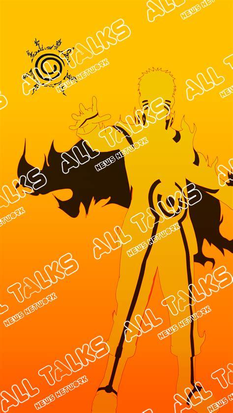 Anime Parallax Wallpaper - kyuubi chakra mode anime theme iphone 6 6s 7 plus