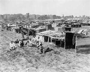 "A ""Hooverville"" is the popular name for shanty towns buil ..."