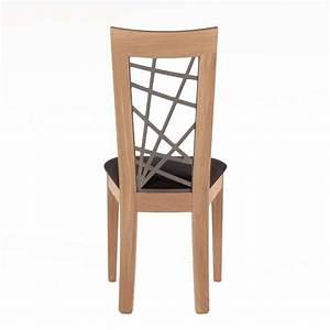 Un Dossier De Chaise : chaise contemporaine dos bois chantourn crocus 4 ~ Premium-room.com Idées de Décoration