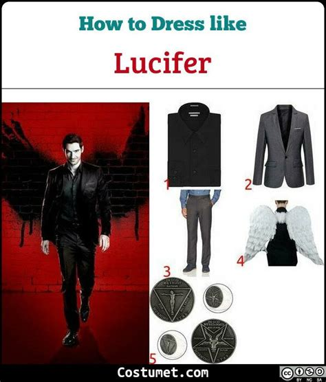 Lucifer Costume For Cosplay And Halloween 2021