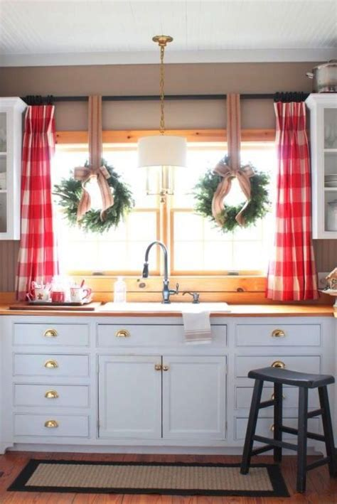 country kitchen window treatments best 25 cabin curtains ideas on country 6181