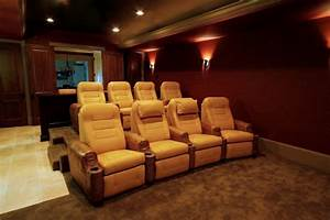 home theater custom seating traditional home theater With home theater furniture atlanta