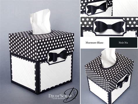 cuisine type atelier tutoriel boîtes à mouchoirs perforatrice noeud