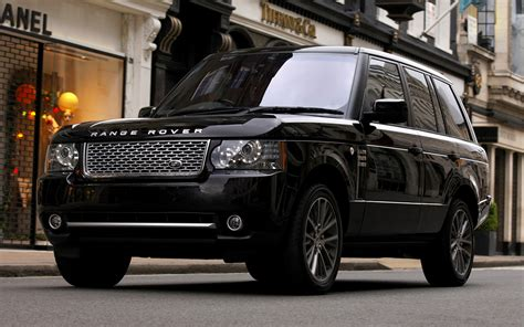 range rover autobiography black  uk wallpapers