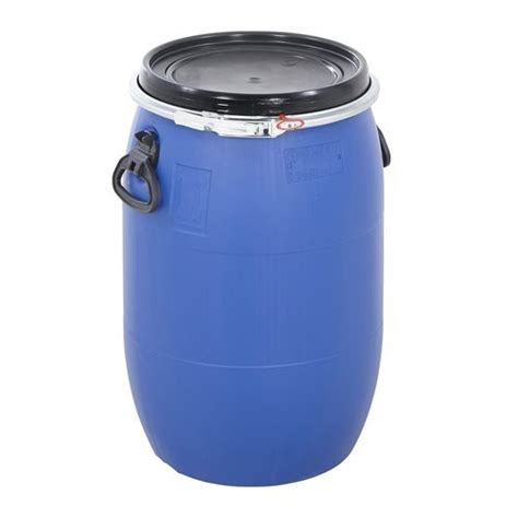 open top plastic drum capacity litres   rs