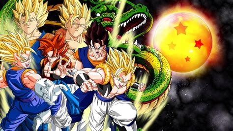 You can see a sample here. Dragon Ball Z Backgrounds - Wallpaper Cave