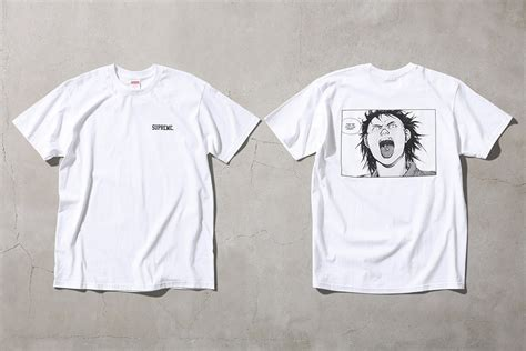 3 4 sleeve panel t shirt take a look at the upcoming supreme x