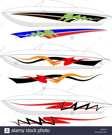 Boat Graphics by Boat Graphics Stripe Vinyl Ready Vector Stock