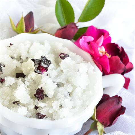 Lavender Sugar Homemade Body Scrub Recipe Wonkywonderful