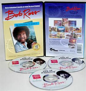Bob Ross DVD Seascape Collection: 6.5 Hour (3 Discs ...