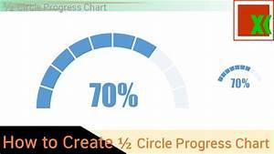 Half Circle Progress Chart -how To Create