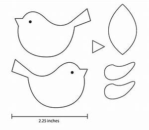 printable bird pattern template | Little Pieces of Me ...